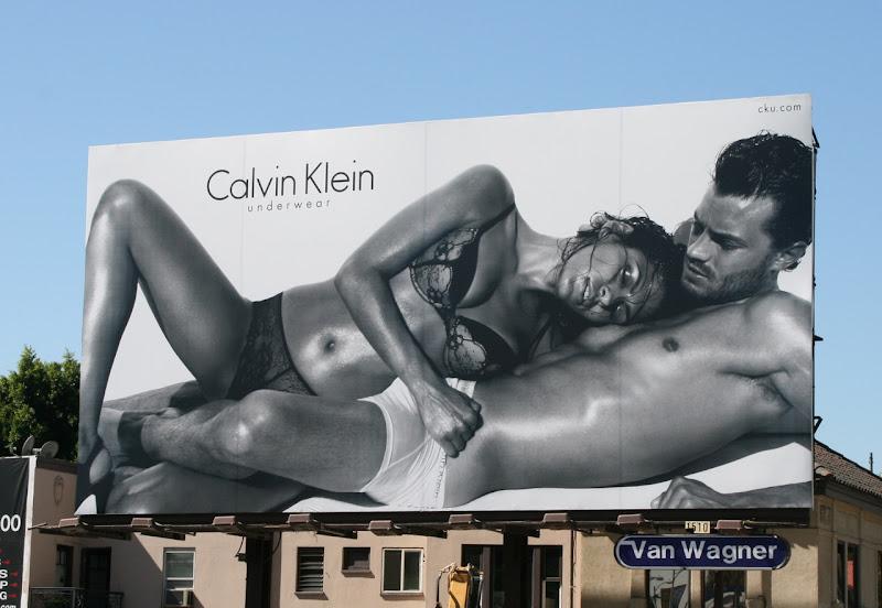 Eva Mendes Calvin Klein underwear bilboard