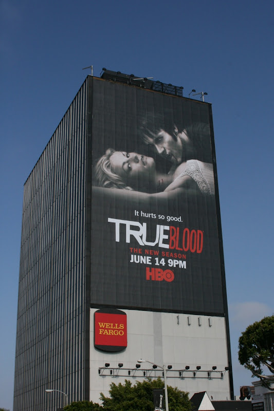 True Blood season 2 TV billboard