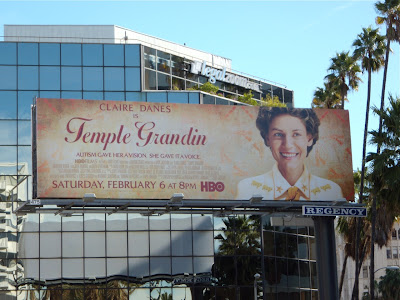 Temple Grandin TV billboard