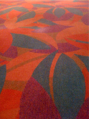 Walt Disney Concert Hall carpet