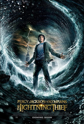Percy Jackson The Lightning Thief film poster
