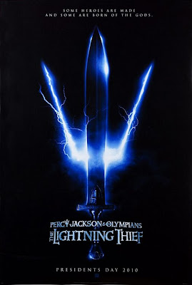 Percy Jackson The Lightning Thief teaser poster