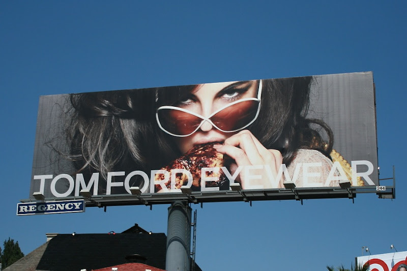 Tom Ford eyewear billboard