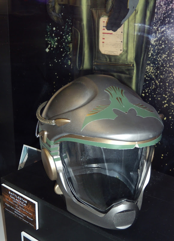 Starbuck's helmet Battlestar Galactica
