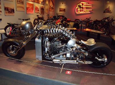 Skeleton motorbike 2006