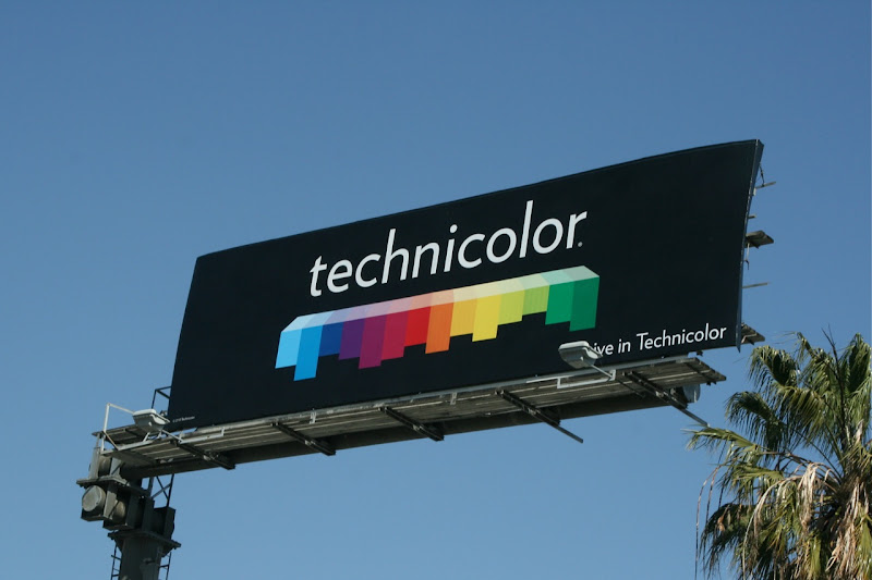 Technicolor billboard