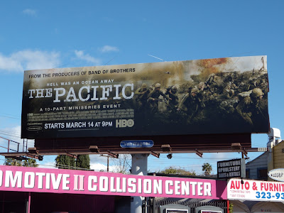 The Pacific TV mini series billboard