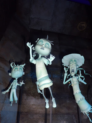 Coraline stop-motion animation models