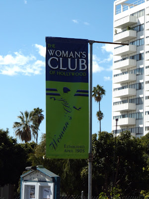 Hollywood Woman's Club angel banner