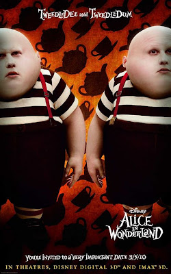 Tweedledee & Tweedledum Alice in Wonderland poster