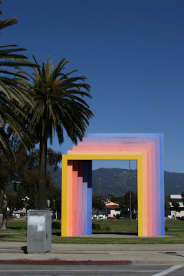 Herbert Bayer's Chromatic Gate Santa Barbara