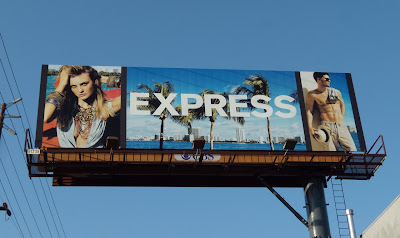 Express fashion billboard