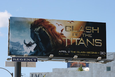 Clash of the Titans Kraken billboard