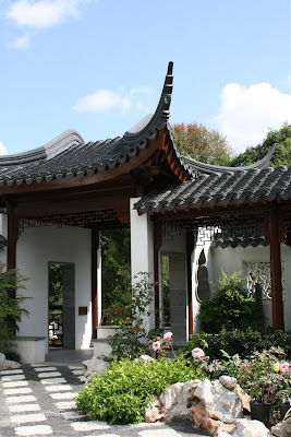 Chinese Garden Pavilion Huntington Gardens