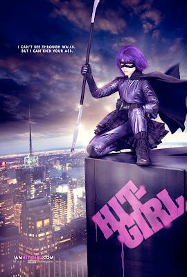 Kick-Ass HIt-Girl poster
