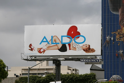 Aldo Shoes fashion billboard