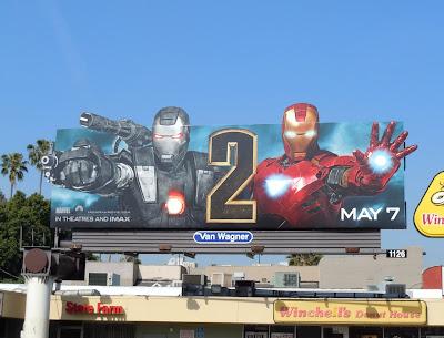 Iron Man 2 billboard