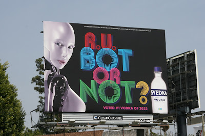 R U Bot or Not Svedka Vodka billboard