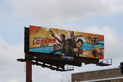 The Losers film billboard