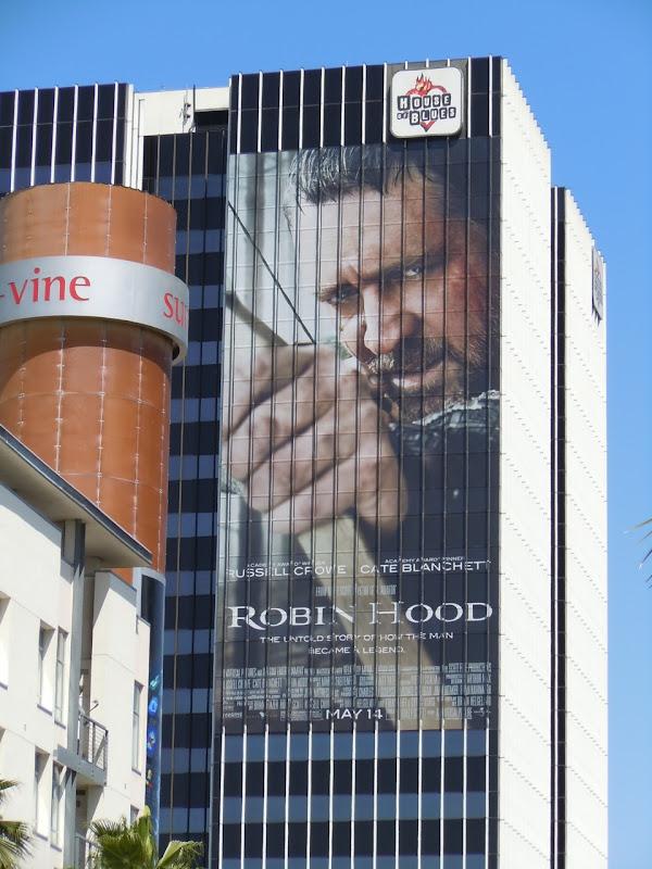 Russell Crowe Robin Hood billboard