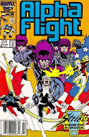 Alpha Flight #43 cover
