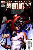 Iron Man 2005 comic cover issue 8