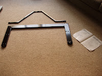How to assemble a TV stand - part one!
