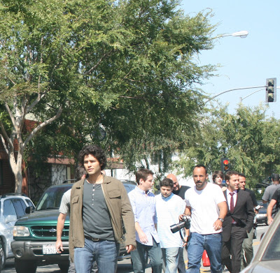 Adrian Grenier and the cast of HBO's Entourage strut their stuff