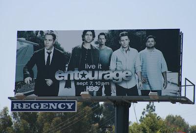 Entourage season 5 billboard