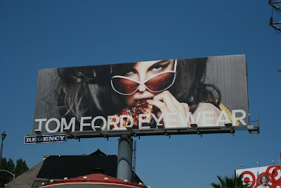 Tom Ford stylish eyewear billboard