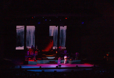Queen of Disco, Donna Summer, in concert at The Hollywood Bowl, 23 August 2008