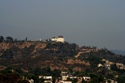 View of the Griffith Park Observatory from Runyon Canyon