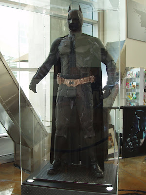 The Batman Suit worn in The Dark Knight movie