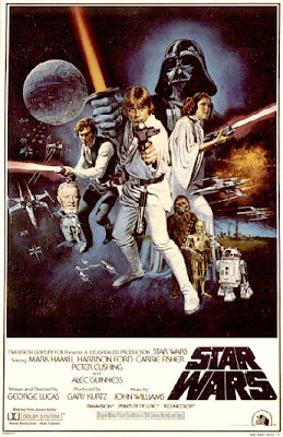 Star Wars - A New Hope movie poster