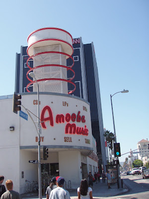 Amoeba Music Store on Sunset Blvd