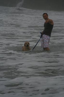 Ocean puppy and Jason