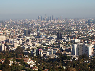 View of downtown from Runyon Canyon