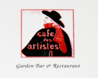 Cafe des Artistes restaurant in Hollywood