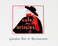 Cafe des Artistes restaurant in Hollywood
