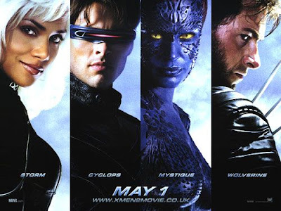 X2 -X-Men United movie poster