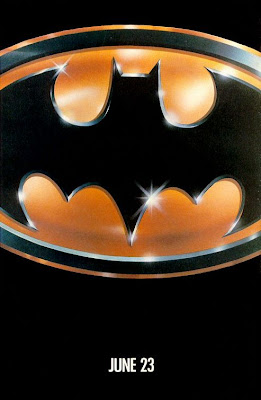 Tim Burton's Batman movie poster