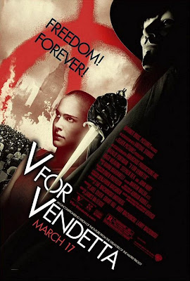 V for Vendetta movie poster