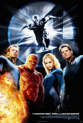 Fantastic Four - Rise of the Silver Surfer movie poster