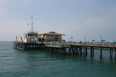 The end of Santa Monica Pier