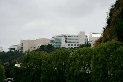 View of Getty Center from the Lower Tram Station