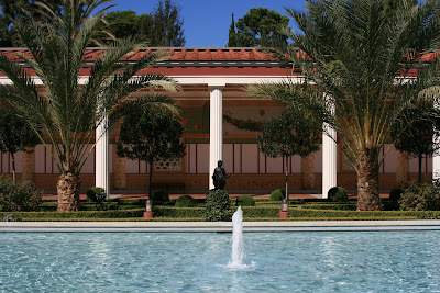 Outer Peristyle Getty Villa Malibu