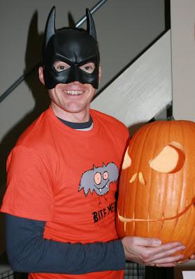 Halloween Charlie & pumpkin head