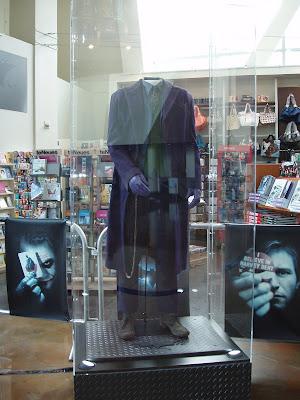 The Joker costume from The Dark Knight movie