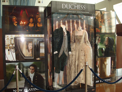 Costumes from The Duchess movie
