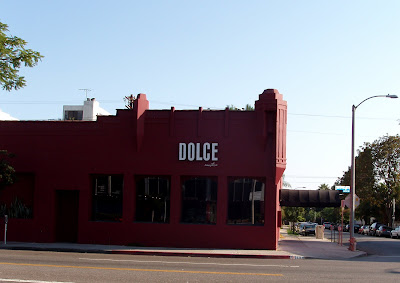Dolce restaurant on Melrose Avenue